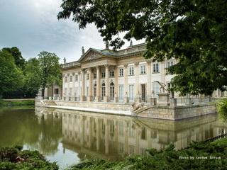 Pałac łazienkowski W Warszawie Pałac Na Wodzie W Warszawie